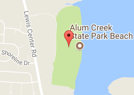 Alum Creek State Park Map View