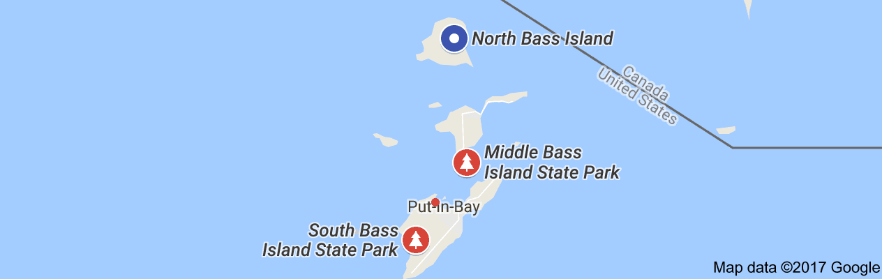 North Bass Island State Park Map View